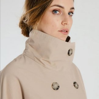 Oversized double breasted coat peserico lente zomer 2020 detail1